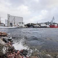 Bilder fra ekstremværet Nina i Kristiansand og Søgne.
