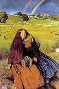 Sir John Everett Millais, 1st Baronet, PRA (1829 –1896) The Blind Girl Oil on canvas 1854-1856