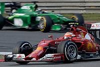 RAIKKONEN Kimi (Fin) Ferrari F14T action during the 2014 Formula One World Championship, Grand Prix of China on April 20, 2014 in Shanghaï, China. Photo Eric Vargiolu / DPPI