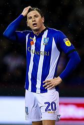 Adam Reach of Sheffield Wednesday - Mandatory by-line: Robbie Stephenson/JMP - 09/11/2018 - FOOTBALL - Bramall Lane - Sheffield, England - Sheffield United v Sheffield Wednesday - Sky Bet Championship