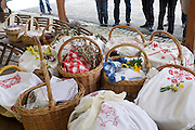 Easter in Southern Styria, Austria. St. Nikolai im Sausal. Fleischweihe (blessing of the Easter meat) at Steiri Buschenschank.