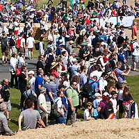 Crowds at the Goodwood FOS on 28 June 2015