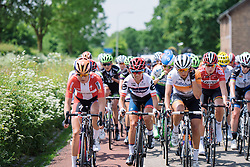 Ashleigh Moolman Pasio, Anouska Koster at Boels Hills Classic 2016. A 131km road race from Sittard to Berg en Terblijt, Netherlands on 27th May 2016.