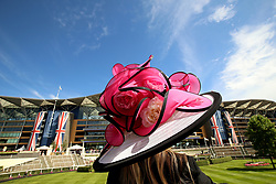 Racegoer Theres Ropposch-Greimel during day five of Royal Ascot at Ascot Racecourse.