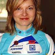 NLD/Oosterbeek/20060321 - Presentatie nieuwe dames wielerploeg Buitenpoort - Flexpoint Team, Luise Keller