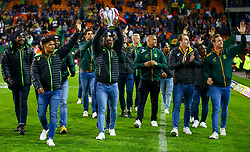 BlitzBokke South Africa national rugby sevens team at 1/2 time- Mandatory by-line: Steve Haag/JMP - 23/06/2018 - RUGBY - DHL Newlands Stadium - Cape Town, South Africa - South Africa v England 3rd Test Match, South Africa Tour