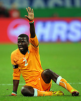 Fotball<br /> Tyskland v Elfenbenskysten<br /> Foto: Witters/Digitalsport<br /> NORWAY ONLY<br /> <br /> 18.11.2009<br /> <br /> Emmanuel Eboue<br /> Fussball Elfenbeinkueste<br /> Fussball Testspiel Deutschland - Elfenbeinkueste 2:2