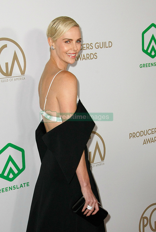 January 18, 2020, Hollywood, California, USA: Charlize Theron attends the 31st Annual Producers Guild Awards at Hollywood Palladium. (Credit Image: © Imagespace via ZUMA Wire)