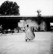 Seine-Pandemie. Rolleiflex pics