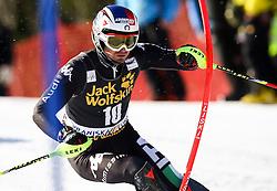 MOELGG Manfred of Italy competes during Men's Slalom - Pokal Vitranc 2014 of FIS Alpine Ski World Cup 2013/2014, on March 9, 2014 in Vitranc, Kranjska Gora, Slovenia. Photo by Matic Klansek Velej / Sportida