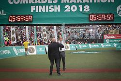 10062018 (Durban) Cutoff time of Comrades marathonPicture: Motshwari Mofokeng/ANA