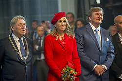 Queen Maxima and King Willem Alexander attending King's Day Celebrations in Groningen, Netherlands, on April 27, 2018. Photo by Robin Utrecht/ABACAPRESS.COM
