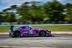 March 14, 2019 - Sebring, Etats Unis - 71 P1 MOTORSPORTS (USA) MERCEDES AMG GT3 GTD MAXIMILIAN BUHK (DEU) FABIAN SCHILLER (DEU) JC PEREZ  (Credit Image: © Panoramic via ZUMA Press)