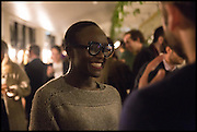 , Lynette Yiadom-Boakye Frieze party, ACE hotel Shoreditch. London. 18 October 2014