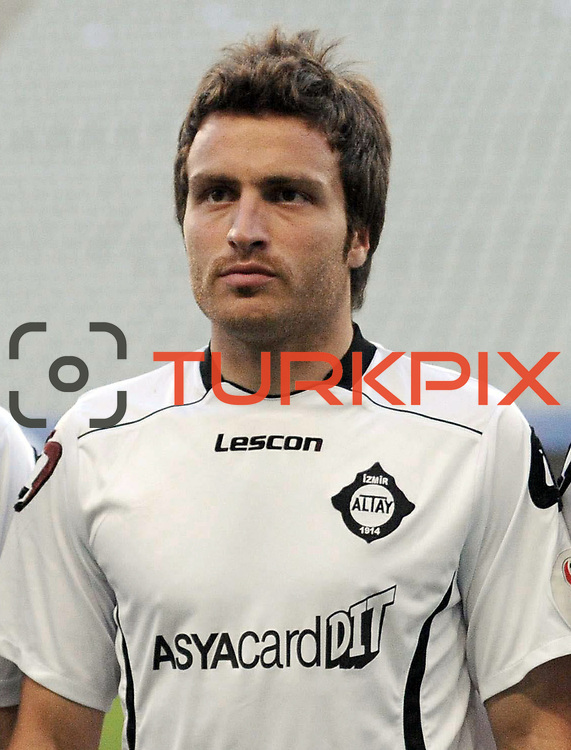 Altayspor's Mesut CAYTEMEL during their Play Off First leg match at Ataturk olympic Stadium in Istanbul Turkey on Monday, 17 May 2010. Photo by TURKPIX