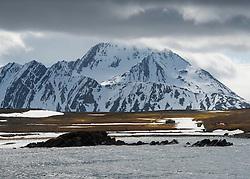 Eøya in Van Keulenfjorden, Svalbard