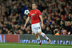 5th December 2017 - UEFA Champions League - Group A - Manchester United v CSKA Moscow - Luke Shaw of Man Utd - Photo: Simon Stacpoole / Offside.