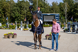 Farewell, Smolders Harrie, NED, Don VHP Z<br /> Global Champions Tour - Valkenswaard 2020<br /> © Hippo Foto - Dirk Caremans<br />  12/09/2020