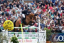 Van Paesschen Constant, BEL, Hamlet v Donkhoeve<br /> Derby Région des Pays de La Loire<br /> Longines Jumping International de La Baule 2017<br /> © Dirk Caremans<br /> Van Paesschen Constant, BEL, Hamlet v Donkhoeve