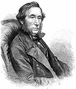 William Balfour Baike (1825-1864) Scottish naturalist, explorer, naval surgeon and linguist. Expeditions to the Niger 1854 and 1857. Wood engraving 1864.