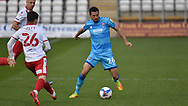 Cheltenham Town's Liam Sercombe during the EFL Sky Bet League 2 match between Stevenage and Cheltenham Town at the Lamex Stadium, Stevenage, England on 20 April 2021.