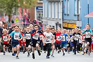 Mayor's Fun Run in Carmarthen