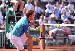 June 9, 2017 - Paris, France - Stan Wawrinka (sui) vs Andy Murray (gbr) - Demi Finale simple Hommes (Credit Image: © Panoramic via ZUMA Press)
