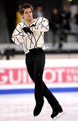 25.03.2010, Torino Palavela, Turin, ITA, ISU World Figure Skating Championships Turin 2010, Männer Kurzprogramm, im Bild, Viktor Pfeifer (AUT). EXPA Pictures © 2010, PhotoCredit: EXPA/ InsideFoto/ Perottino / SPORTIDA PHOTO AGENCY