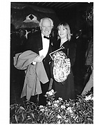 Mr. and Mrs. Desmond Guinness. NY. 1989. © Copyright Photograph by Dafydd Jones 66 Stockwell Park Rd. London SW9 0DA Tel 020 7733 0108 www.dafjones.com