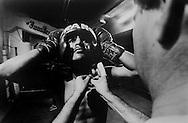 Tijuana boxing gym.  1995