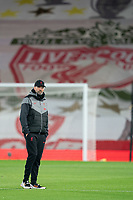Football - 2020 / 2021 Premier League - Liverpool vs Sheffield United - Anfield<br /> <br /> Liverpool manager Jürgen Klopp  during the pre-match warm-up <br /> <br /> COLORSPORT/TERRY DONNELLY