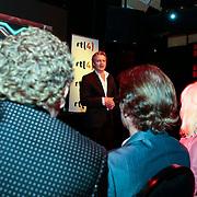NLD/Amsterdam/20100202 - Perspresentatie X-Factor 2010, toepsraak Erland Galjaard