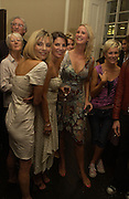 Jemima French, Sadie Frost, and Daisy Shields, Franc Roddam and Frost French host a party to celebrate the publication of ' Margarita's Olive Press' by Rodney Shileds. 1 Greek St. Soho Sq. London. 15 September 2005.  ONE TIME USE ONLY - DO NOT ARCHIVE  © Copyright Photograph by Dafydd Jones 66 Stockwell Park Rd. London SW9 0DA Tel 020 7733 0108 www.dafjones.com