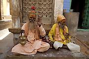 Sadus - Holy Men- Jaisalmer Rajasthan