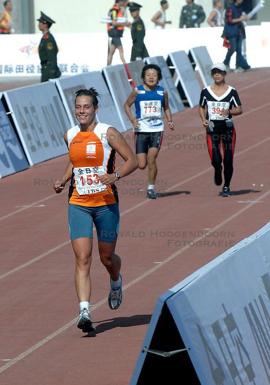 21-10-2007 ATLETIEK: ANA BEIJING MARATHON: BEIJING CHINA<br /> De Beijing Olympic Marathon Experience georganiseerd door NOC NSF en ATP is een groot succes geworden / Irene Eijs<br /> ©2007-WWW.FOTOHOOGENDOORN.NL