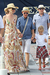 Ellen DeGeneres and Portia De Rossi put on a loving display as stroll around Saint Barthelemy, French indies on december 25, 2015. Photo by Papixs/ABACAPRESS.COM  | 528442_009 St Barthelemy France
