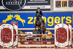 Stegen Thimo, BEL, Q-Mandor<br /> Pavo Hengsten competitie - Oudsbergen 2021<br /> © Hippo Foto - Dirk Caremans<br />  22/02/2021