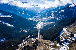 22.03.2020, Gerlos, AUT, Coronavirus Krise, Osttirol. Das Land Tirol hat alle Personen, die sich in der Woche vom 8. bis 15. März in Bars und Aprs-Ski-Lokalen im Zillertal aufgehalten haben, dazu aufgerufen, besonders auf den Gesundheitszustand zu achten und bei Symptomen die Gesundheitsberatung 1450 zu kontaktieren. Im Bild Übersicht Gerlos // Overview Gerlos. The State of Tyrol has called on all people who were in bars and après-ski bars in the Zillertal during the week from March 8th to 15th to pay special attention to their health and to contact the 1450 health counseling service if they experience symptoms. Mayrhofen, Austria on 2020/03/22. EXPA Pictures © 2020, PhotoCredit: EXPA/ Johann Groder