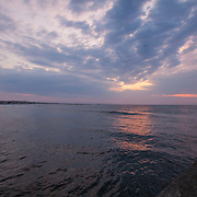 Today's  sunrise  at Narragansett Town Beach, Narragansett, RI,  April  8, 2013.