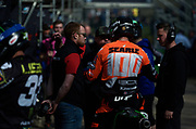 Tommy Searle in nice light. What was it he said? Oh yes, a weekend to forget!