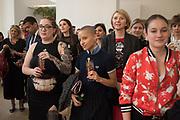LIV WYNTER; ; RENE MATICH, Art Night Party, Phillips de Pury. 24 May 2018