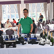 Mei sim and TVE hosts at Charity Glof day at golf Day at RAC club, Epsom
