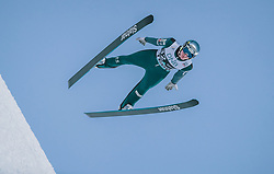 09.03.2020, Lysgards Schanze, Lillehammer, NOR, FIS Weltcup Skisprung, Raw Air, Lillehammer, Herren, im Bild Domen Prevc (SLO) // Domen Prevc of Slovenia during men's 2nd Stage of the Raw Air Series of FIS Ski Jumping World Cup at the Lysgards Schanze in Lillehammer, Norway on 2020/03/09. EXPA Pictures © 2020, PhotoCredit: EXPA/ JFK