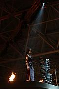 Het openingsfeest van de Miljonairfair 2004 werd donderdag opgefleurd door gouden Olympische medaillewinnaars Pieter van den Hoogenband, Inge de Bruijn (beide zwemmen) en Leontien van Moorsel (wielrennen). Zij ontstaken de beurs met vuurwerk. Anky van Grunsven (dressuur) moest afhaken. Zij herstelt nog van de bevalling van haar zoon.