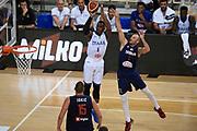 Paul Biligha<br /> Nazionale Italiana Maschile Senior - 2019 Torneo dell'Acropoli<br /> Italia Italy -  Serbia Serbia<br /> FIP 2019<br /> Atene, 17/08/2019<br /> Foto GiulioCiamillo/ Ciamillo