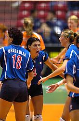 17-06-2000 JAP: OKT Volleybal 2000, Tokyo<br /> Nederland - Italie 2-3 / Leggeri, Elisa Togut