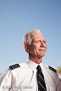 Captain Chesley Sullenberger, pilot of US Airways Flight 1549, that landed in the Hudson River, Januar y 15 2009.  Photographed in Phoenix AZ, April 2009.