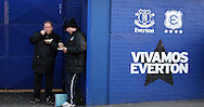 Everton fans before the Premier League match at Goodison Park, Liverpool. Picture date: December 4th, 2016.Photo credit should read: Lynne Cameron/Sportimage