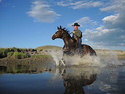 J-L ranch in Centennial Valley of Southwest Montana in the USA. (Photo by Ami Vitale)