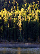 Salmon Lake in Fall.